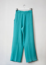 Load image into Gallery viewer, TURQUOISE VINTAGE PANTS