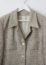 Load image into Gallery viewer, MULTICOLOUR TWEED BLAZER