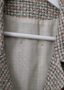 MULTICOLOUR TWEED BLAZER