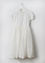 Load image into Gallery viewer, WHITE VINTAGE DRESS