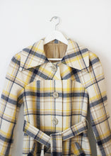 Load image into Gallery viewer, CHECKED VINTAGE COAT