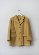 Load image into Gallery viewer, YELLOW VINTAGE COAT