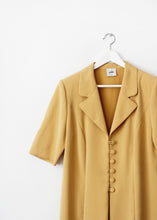 Load image into Gallery viewer, YELLOW VINTAGE DRESS