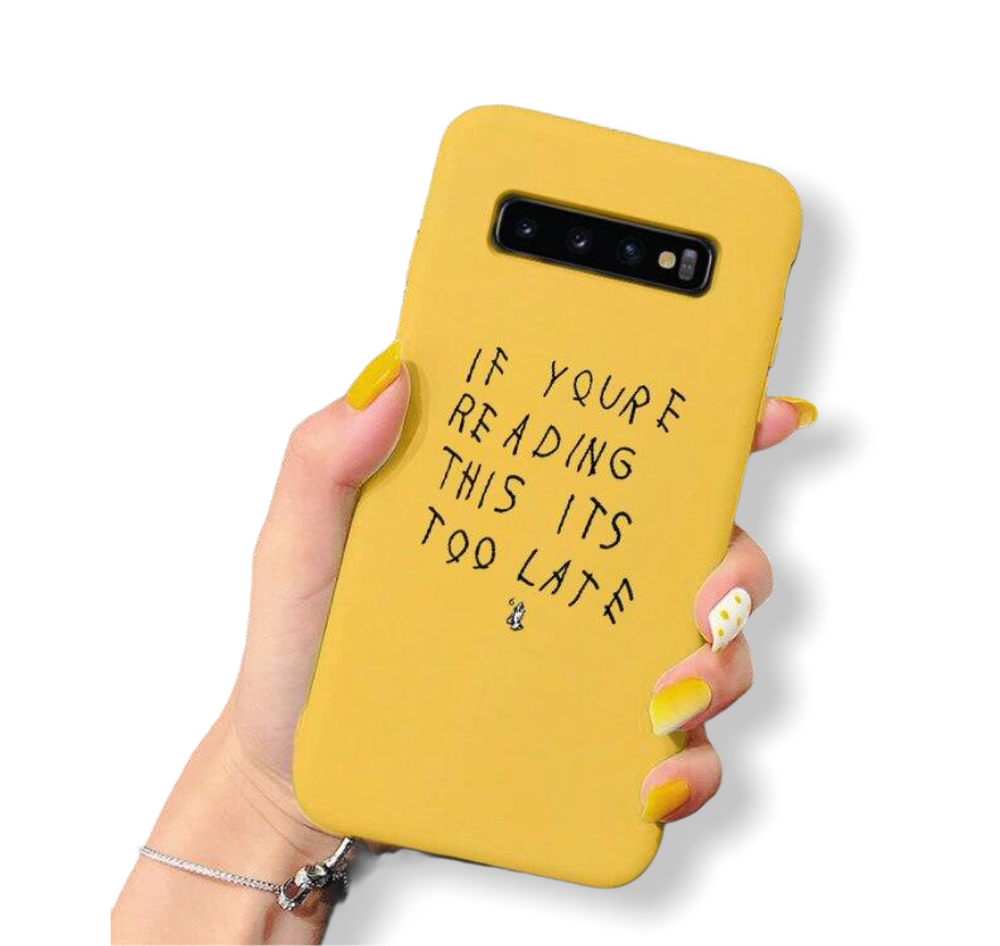 If You're Reading This - Phone Case