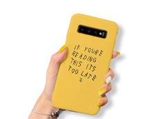 Load image into Gallery viewer, If You're Reading This - Phone Case (iPhone)
