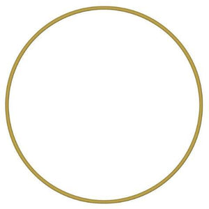 Metal Ring - Brass, 16'' - PoCo Inspired