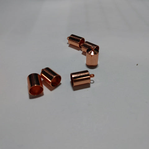 End Cap - Barrel 6pk Copper 6mm - PoCo Inspired