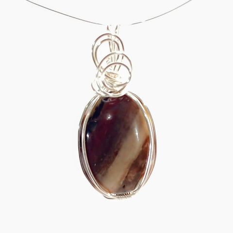 Workshop, Wire Wrap Pendant - PoCo Inspired
