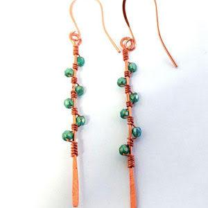 Workshop, Desert Vine Earrings - PoCo Inspired