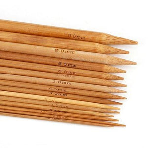 Bamboo Mandrels, 15 asst. sizes - PoCo Inspired