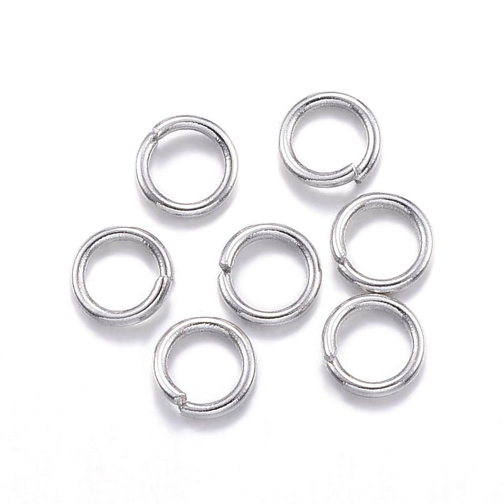 Jump Ring, 5mm Open 925 - PoCo Inspired