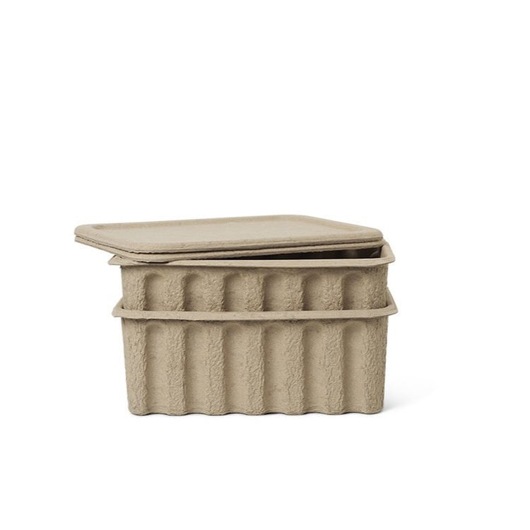 FERM LIVING | Paper Pulp Box | Set of 2
