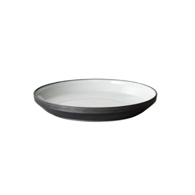 KINTO | Rim Plate | Porcelain | Black | Earth Grey | 160mm - 240mm