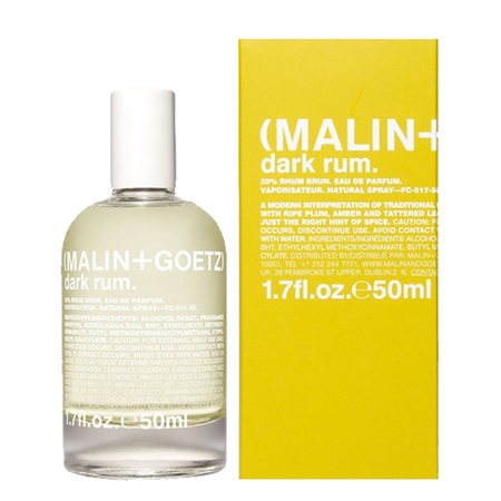 MALIN+GOETZ | Dark Rum Eau De Parfum | 1.7fl.oz | 50ml