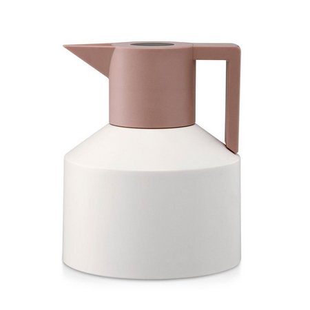 NORMANN COPENHAGEN | Geo Vacuum Jug | White | Grey | Red