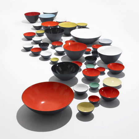 NORMANN COPENHAGEN | Krenit Bowl | Steel | Various Sizes & Colours