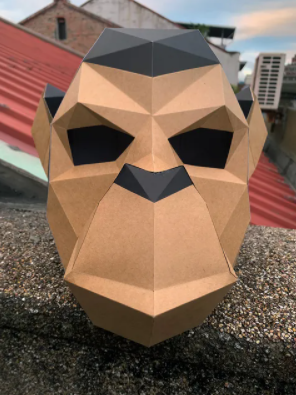 DIANHUA GALLERY | No.1 | Mask | Monkey