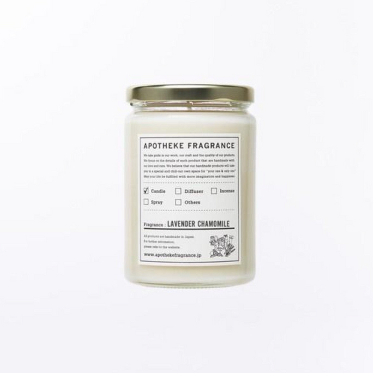 APOTHEKE FRAGRANCE | Possesses | Glass Jar Candle | 10.22oz | 290g |