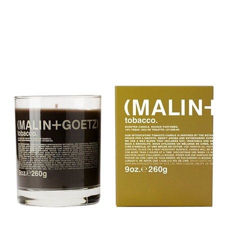 MALIN+GOETZ |  Tobacco Candle | 9oz | 260g