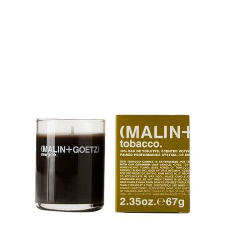 MALIN+GOETZ |  Tobacco Votive Candle | 2.35oz | 67g