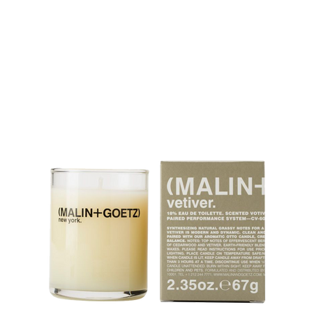 MALIN+GOETZ |  Vetiver Votive Candle | 2.35oz | 67g
