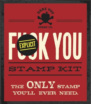 Fuck You Stamp Kit