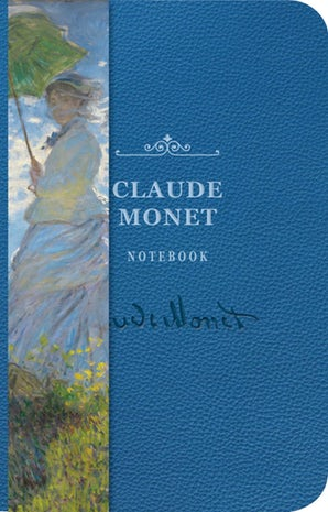Claude Monet Signature Notebook