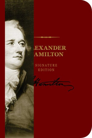 Alexander Hamilton Signature Notebook
