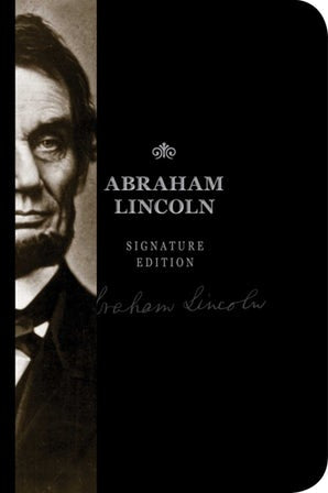 Abraham Lincoln Signature Notebook