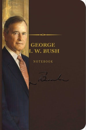 George H. W. Bush Signature Notebook