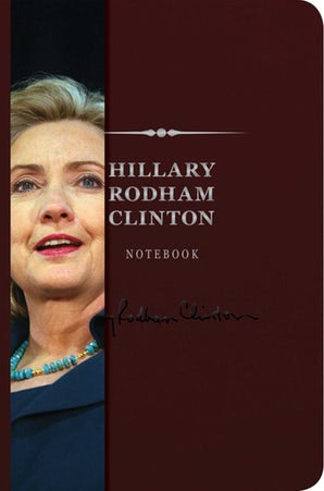Hillary Rodham Clinton Signature Notebook