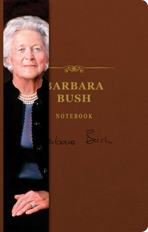 Barbara Bush Signature Notebook