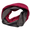 Fuschia & Charcoal Sparkle Loop Snood