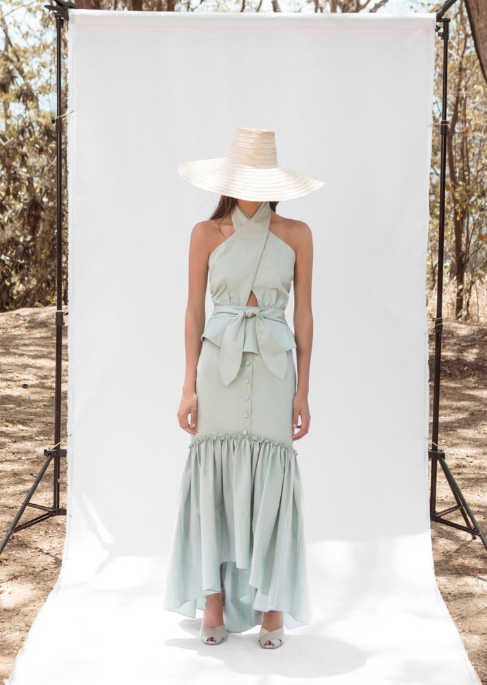 Load image into Gallery viewer, AGUA SKIRT IN MINT