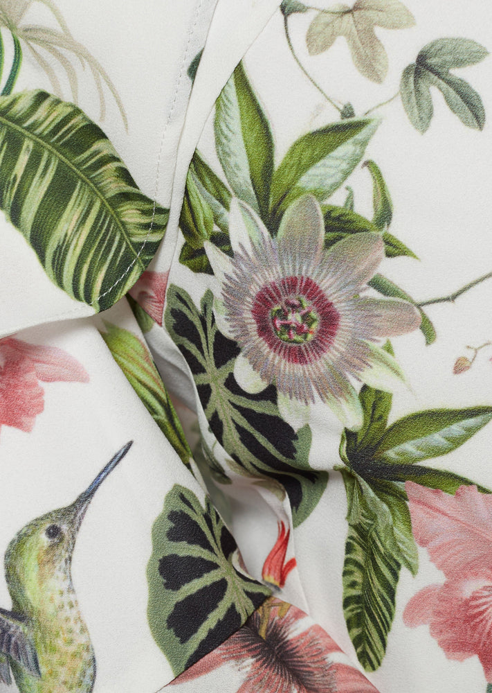 Load image into Gallery viewer, ORQUÍDEA TOP IN WHITE CAMALEON PRINT