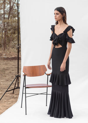 Load image into Gallery viewer, PICAFLOR DRESS IN BLACK