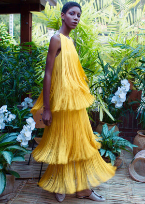 Load image into Gallery viewer, SOL DRESS IN YELLOW