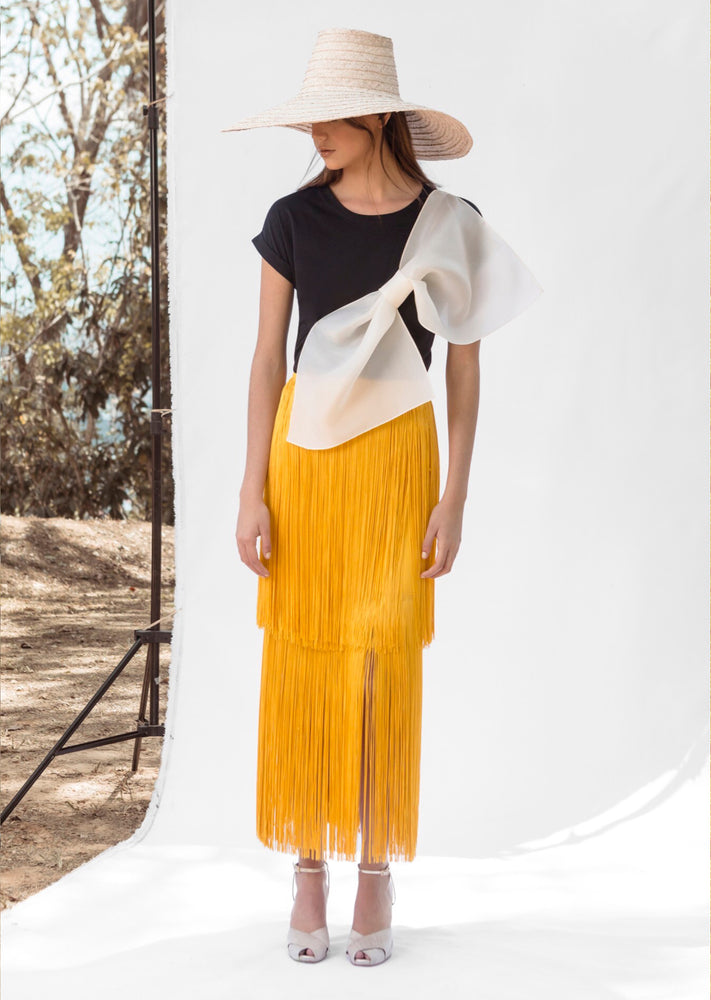 SOL SKIRT IN YELLOW