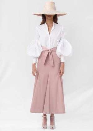 Load image into Gallery viewer, SOMBRITA SKIRT IN PALE ROSE