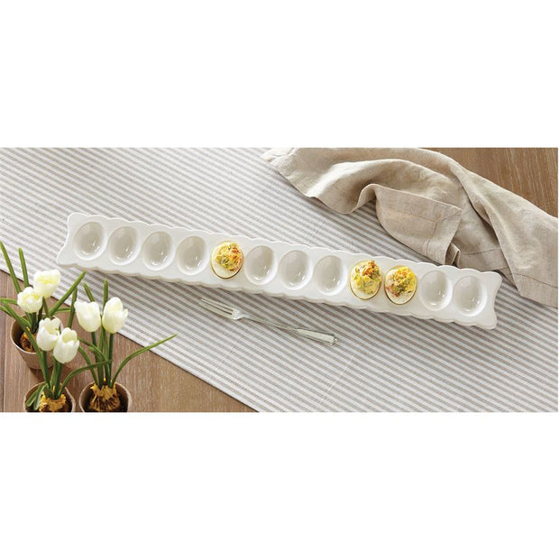 Deviled Egg Tray & Feeling Devilish Fork