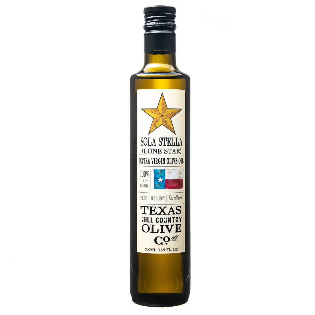Texas Hill Country SOLA STELLA 250ml Olive Oil