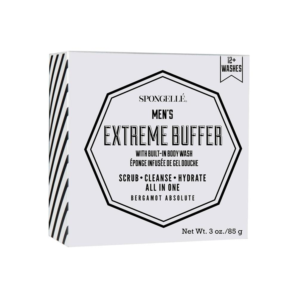 The Men's Extreme Buffer has a built-in body wash that will transform your shower experience. The invigorating scent of Bergamot Absolute is the perfect scent to kick-start your day, take to the gym or to refresh in the evenings. Enriched with cayenne pepper extracts to help boost circulation and make your skin feel smooth and clean shower after shower.
