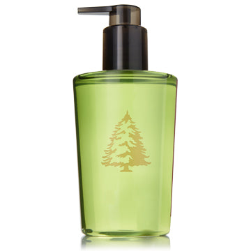 Gentle, glycerin-enhanced lather keeps hands cleansed and moisturized, leaving behind a light touch of the crisp, just-cut forest fragrance of Frasier Fir. 8.25 fl oz.