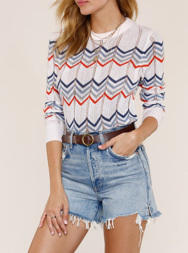 Between The Lines Sweater
