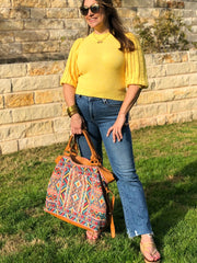 Walkin' in Sunshine Knit Top