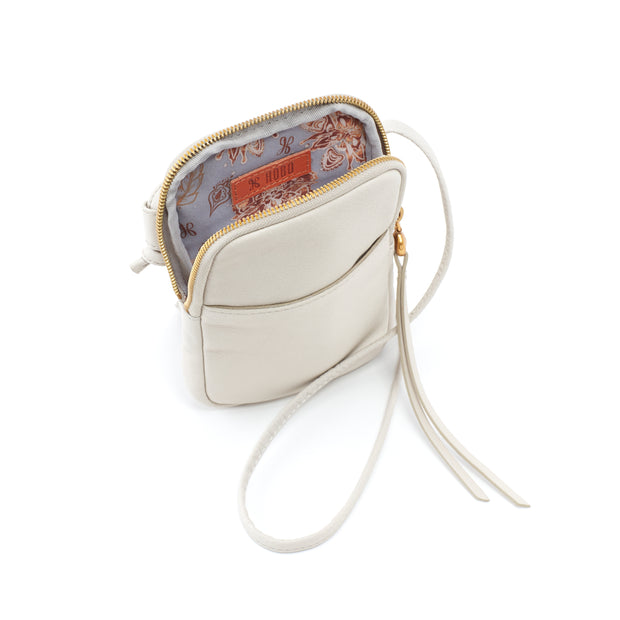 Hobo Fate Dew. The Hobo Fate crossbody is the perfect phone bag by Hobo for your smartphone, ID, and credit cards. Crafted in Hobo's signature velvet hide, our softest and most casual leather that only gets more beautiful over time.