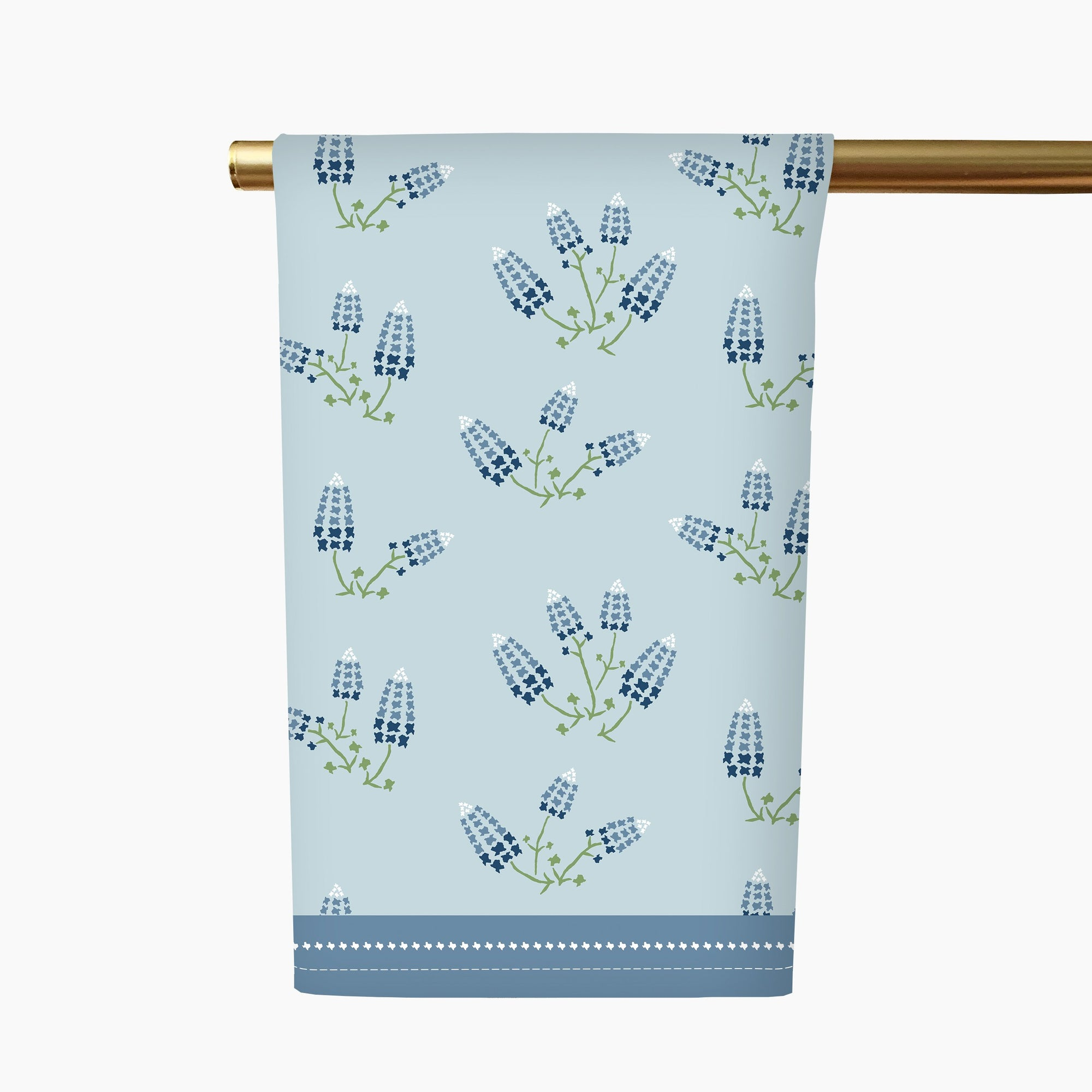 Texas Bluebonnets Tea Towel