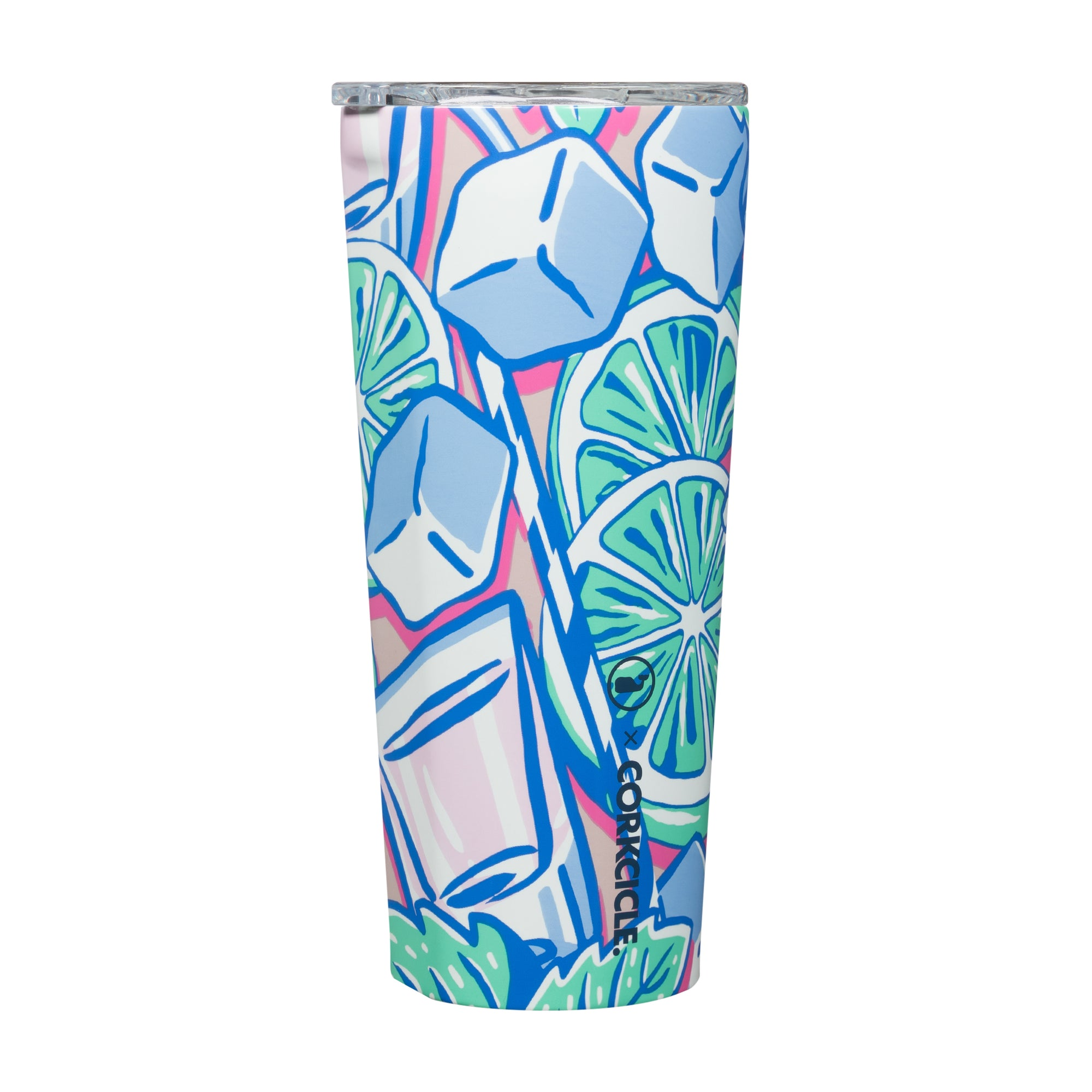 Corkcicle x Vineyard Vines Mint Julip! Yes please. The best part it keeps whatever you fancy cold for 9 hours or hot for 3 hours.    24 oz Triple insulated Shatter proof crystal clear lid Limited Edition