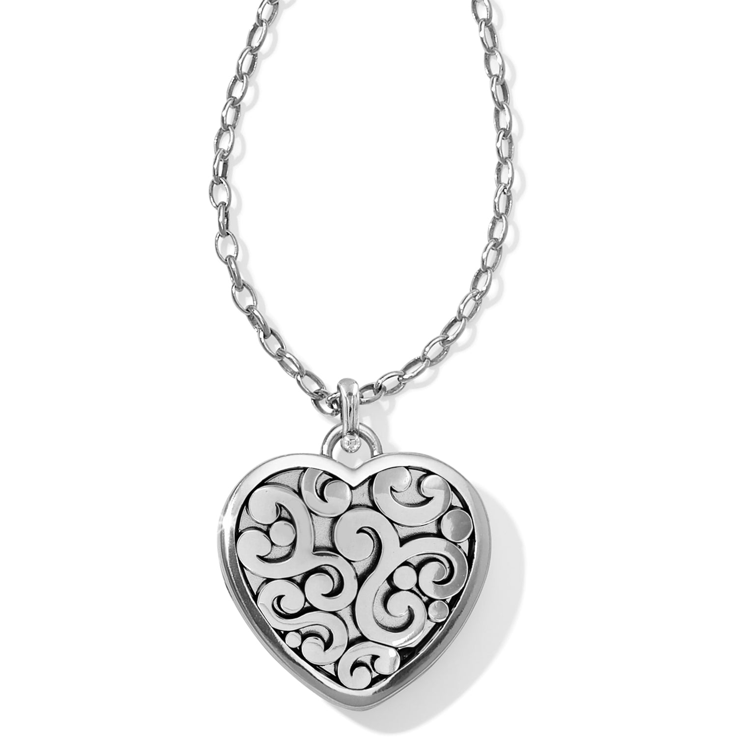 Brighton Jewelry Contempo Convertible Locket Necklace. With a nod to the romantic history of lockets, Brighton has created contemporary versions that are perfect for gifting (or getting!). What's more, you can upload and resize your photo using our online tool and we'll prepare your locket for you.
