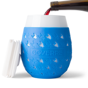 Goverre Portable Stemless Wine Glass - Blue